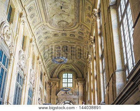 Palazzo Madama In Turin (hdr)