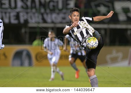 Rio de Janeiro Brazil - july 27 Canale during Botafogo x Bragantino valid for the return leg of the 3rd phase of the Brazil Cup held at the Arena Botafogo