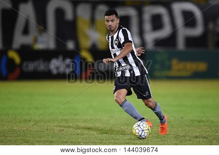 Rio de Janeiro Brazil - july 27 Rodrigo Lindoso during Botafogo x Bragantino valid for the return leg of the 3rd phase of the Brazil Cup held at the Arena Botafogo