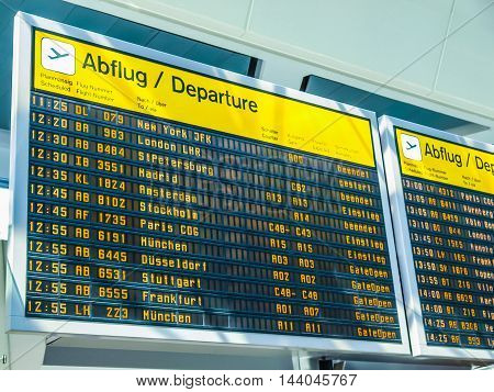 Flights Time Table (hdr)