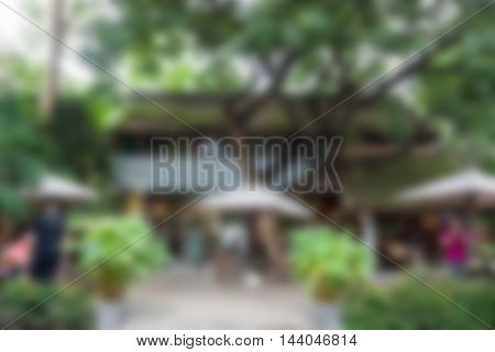 Coffee Shop Blurred abstract background, stock photo