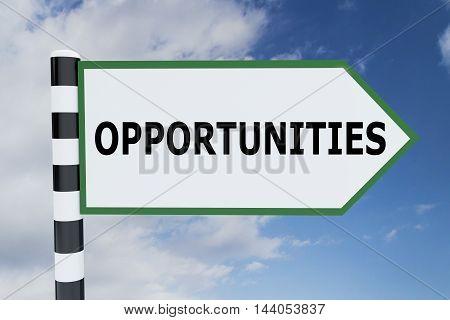 Opportunities - Career Concept