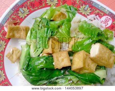 Vegetarian Stir Fry With Thai Jasmine Rice, Vegetarian Food, Healthy Food