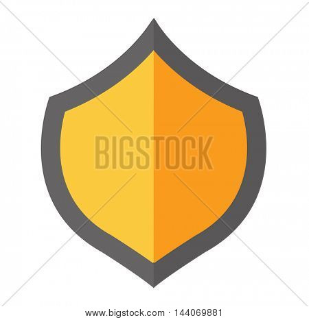Shield vector illustration.
