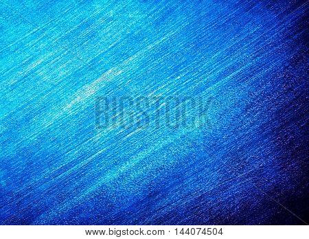 blue paint brushed background