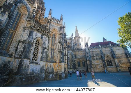 Batalha Monastery In Portugal