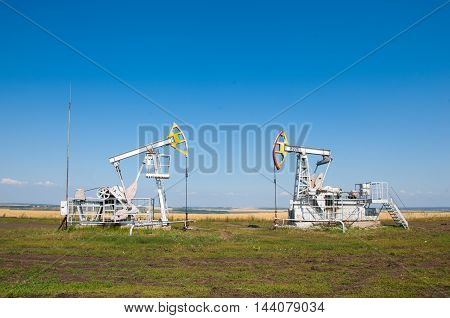 Oil Pumps. Oil Rocking Chair