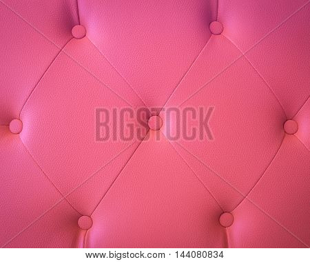 Close up pink leather and texture background