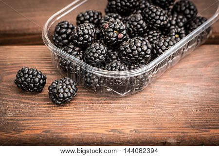 Fresh Summer Berries, Healthy Food On Table