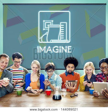Imagine Ideas Thinking Vision Dream Creative Concept