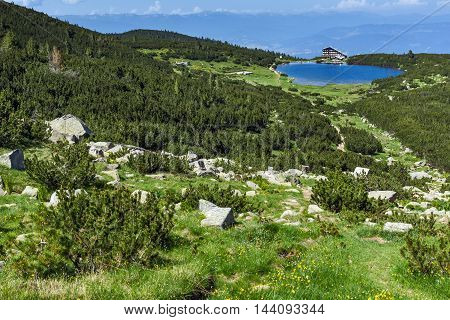 Amazing landscape around Bezbog lake, Pirin Mountain, Bulgaria