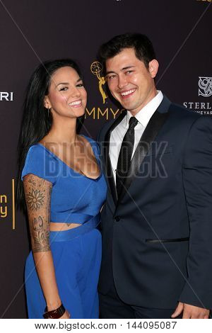 LOS ANGELES - AUG 24:  Guest, Christopher Sean at the Daytime TV Celebrates Emmy Season  at the Television Academy - Saban Media Center on August 24, 2016 in North Hollywood, CA