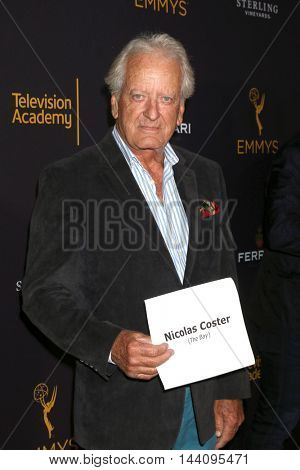 LOS ANGELES - AUG 24:  Nicolas Coster at the Daytime TV Celebrates Emmy Season  at the Television Academy - Saban Media Center on August 24, 2016 in North Hollywood, CA