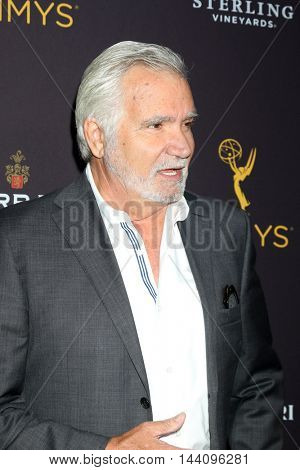 LOS ANGELES - AUG 24:  John McCook at the Daytime TV Celebrates Emmy Season  at the Television Academy - Saban Media Center on August 24, 2016 in North Hollywood, CA