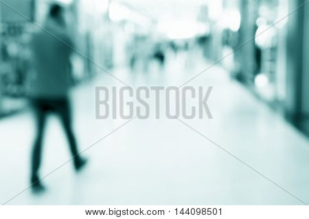 blur shopping mall background. business concept .