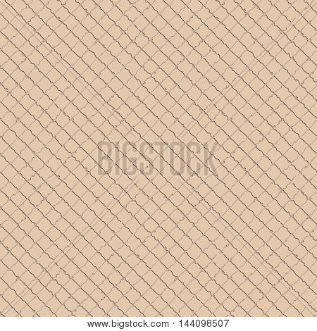 Vector illustration of seamless cracked surface background