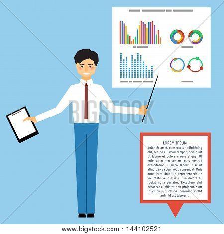 Business Presentation Card Template.