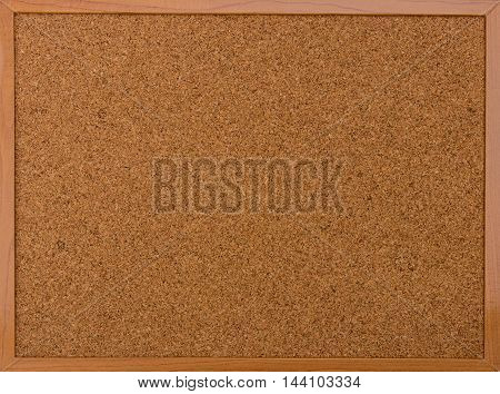 Close-up of cork board background for note