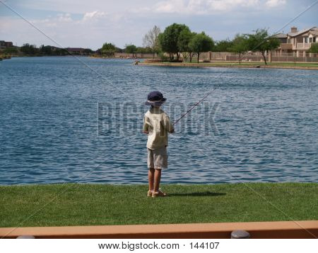 Boy Fishing 2