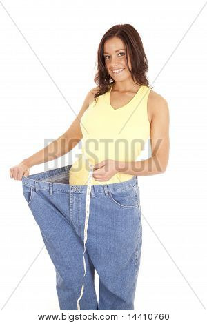 Huge Pants Measure Waist