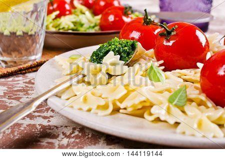 Homemade Pasta Farfalle