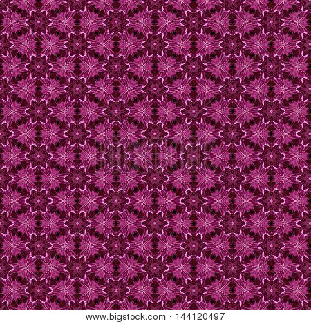 Colorful tileable repeat pattern of vibrant pink square tiles