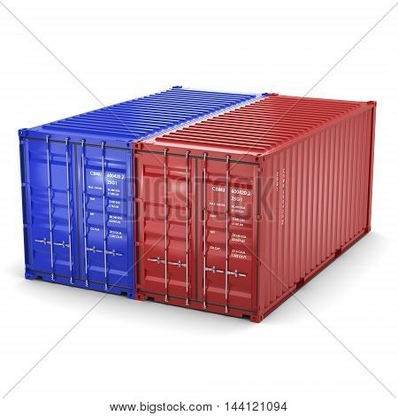 3D Rendering Containers