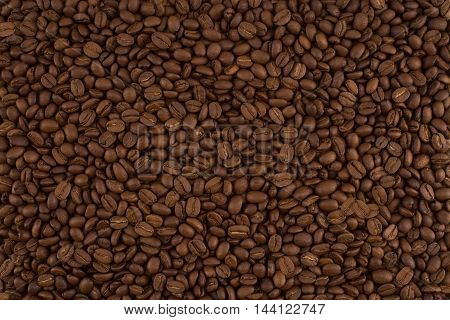 roasted coffee beans can be used as a background