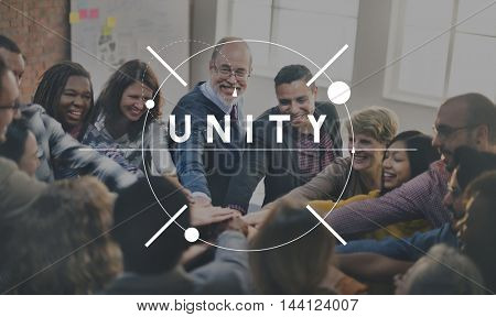 Unity Connection Community Friendship Support Concept