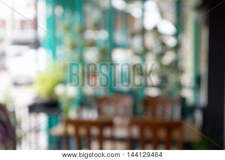 Blur Sitting Place