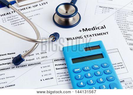 Healthcare Cost Concept