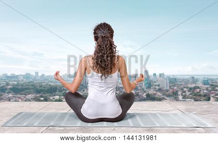 Yoga On The Roof Top