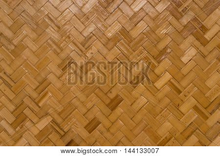 this is a light brown rattan weave pattern background