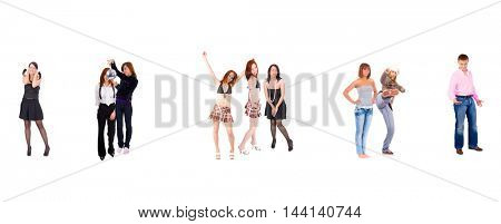Workforce Concept Isolated over White