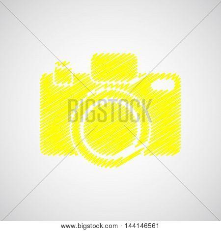 Camera-yellow-sketch
