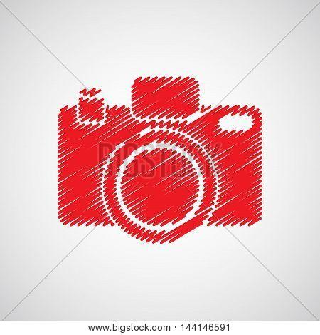 Camera-red-sketch