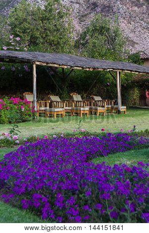 Relaxing Garden In Pisac