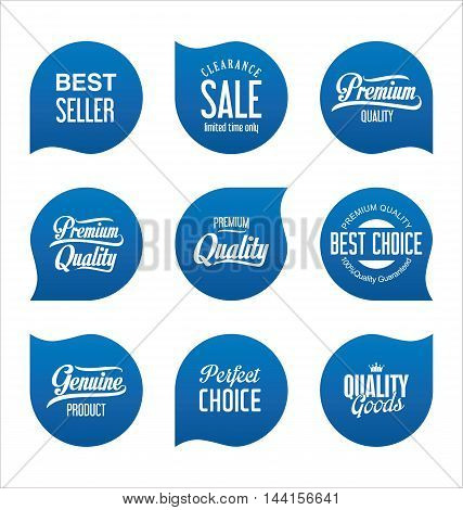 Modern Sale Badges Collection Vector 2.eps