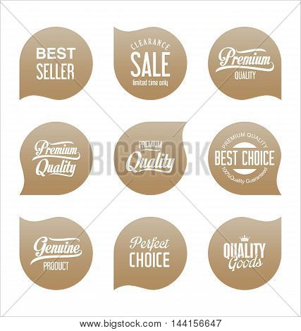Modern Sale Badges Collection Vector 3.eps