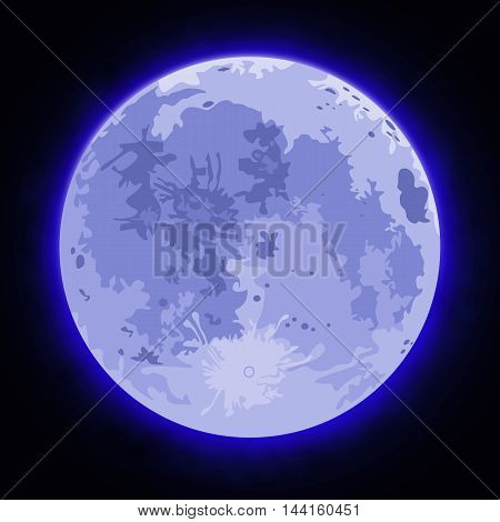 Image Of The Full Moon
