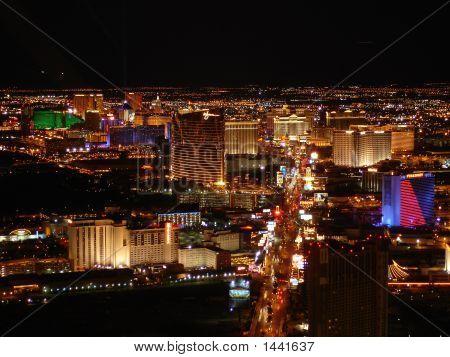 Schillernden Las Vegas