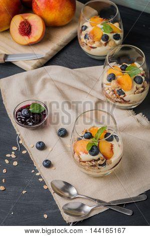Cream And Peach Desert