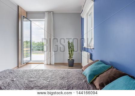 Bedroom With A Relaxing Atmosphere