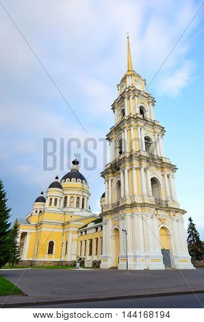 Saviour Transfiguration Cathedral (built in 1838-1851) Rybinsk Russia