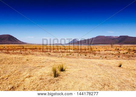 At The Dam - Graaff-reinet Landscape