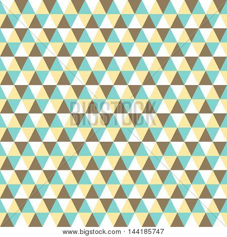 seamless triangle background and pattern vector illustration