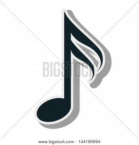 music notes and signs composition elements musical vector illustration