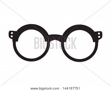 glasses fashion eyewear hipster style accessory vector illustration