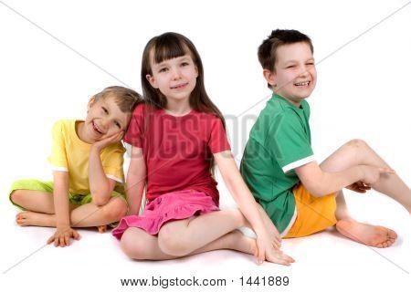 Niños en estudio