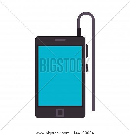 smartphone phone technology and electronic device vector illustration